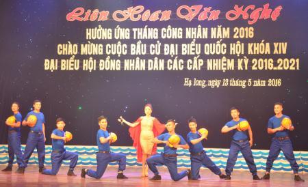 16 tiết mục đặc sắc trong đêm liên hoan văn nghệ của Công đoàn Vùng Hạ Long