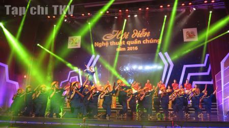 Kết thúc ấn tượng Hội diễn NTQC TKV 2016