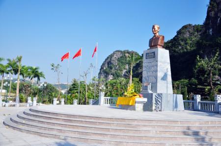 Công trình tượng đài đồng chí Vũ Văn Hiếu là sự tri ân và lòng biết ơn sâu sắc của Đảng bộ, chính quyền và nhân dân tỉnh Quảng Ninh