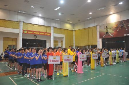 Giải Cầu lông, Bóng bàn, Quần vợt Than Hòn Gai năm 2017