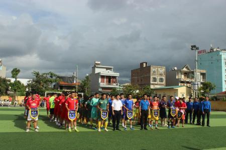 Đoàn thanh niên Công ty tham gia vòng chung kết  giải bóng đá Đoàn Than Quảng Ninh năm 2017