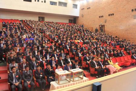 Than Hòn Gai :Tổng kết hoạt động SXKD năm 2017  và Hội nghị Người lao động năm 2018