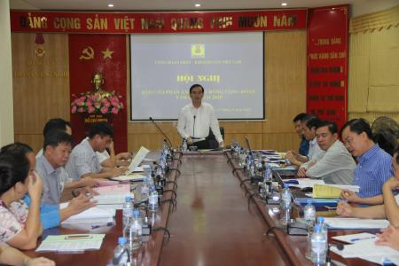 Hội Nghị báo cáo phản ảnh 9 tháng năm 2018 của Công Đoàn TKV