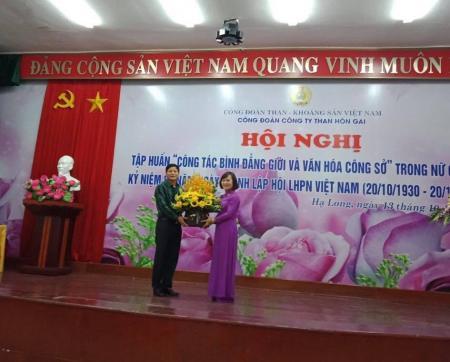 Than Hòn Gai kỷ niệm 88 năm ngày thành lập Hội LHPN Việt Nam (20/10/1930-:-20/10/2018)