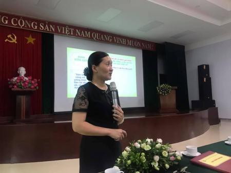 Tập huấn nâng cao kiến thức về Bình đẳng giới và phòng, chống  bạo lực giới năm 2019 tại Công ty than Hòn Gai - TKV