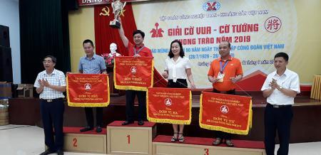 Than Hòn Gai đoạt 2 cúp vô địch cờ vua, cờ tướng TKV